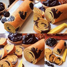 No photo description available. My Recipes, Cake Recipes, Bolu Cake, Jelly Roll Cake, Lapis Legit, Japanese Cake, Sweet Treats, Food And Drink, Sweets