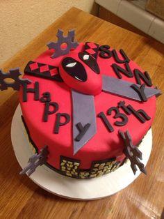 Deadpool cake Marvel comics