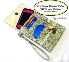 Cell Phone Wristlet Wallet | Craftsy