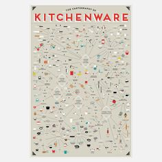 Kitchenware Chart 24x36