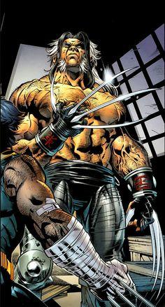 Wolverine vs Romulus by Scot Eaton