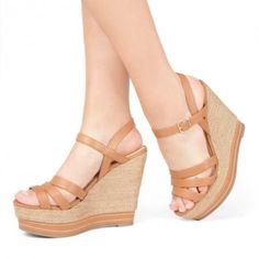 Sintética, Zapatos Justfab, Plataforma Pulgadas, Zapato De La Plataforma,  Último Verano, Sandalias De Cuña De La Plataforma, Sandalias De Los  Zapatos,