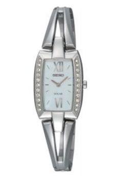 b709414e6 Seiko Watch, Women's Solar Stainless Steel Bangle Bracelet - All Watches -  Jewelry & Watches - Macy's