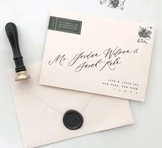Tutorial : How to print addresses on envelopes using custom fonts : Saffron Avenue