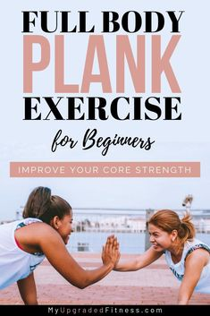 Uncover Helpful Fitness Tips Tips And Hints. Planks For Beginners, Workout For Beginners, Beginner Workouts, Beginner Plank, Beginner Pilates, Pilates Video, Full Body Strength Workout, Strength Training, Plank Workout