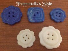 Troppostella's Style: Bottoni in fimo