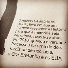 Antijornalismo o jornalismo praticado irresponsavelmente sem respeito à ética e à competência jornalísticas é o tema do artigo deste domingo no caderno Aliás do @estadao. A relação com George Orwell (quem leu 1984 pensou nele o ano todo) é inevitável mas não a única levantada por Lúcia Guimarães. Leitura recomendada!  #agentenaoquersocomida #avidaquer @avidaquer por @samegui http://ift.tt/2hfdhlM