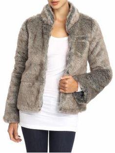 Sanctuary Natalie Faux Fur Jacket   Piperlime