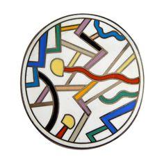 Memphis Design Wakita Wall Clock For Canetti Company 274