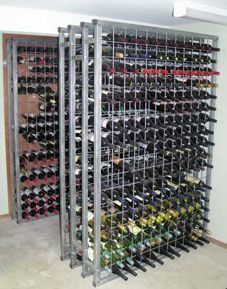 Australian Wine Cellar Racks are manufactured in Australia using Australian made steel tube, wire and mesh. They have been designed to: 1) maximise wine storage in a given area; 2) minimise the cost per bottle of storing wine; 3) enable easy on site assembly and installation; and 4) provide a long term maintenance free wine cellar racking