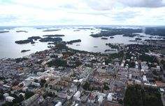 Kuopio is surrounded by water - Kuopio is actually a long peninsula in Lake Kallavesi. Finland, Cities, Scenery, River, Outdoor, Outdoors, Landscape, Outdoor Games, Paisajes