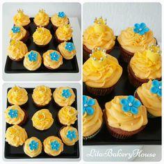 Oranje Cupcakes