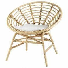 fauteuil en rotin, maison du monde, fauteuil rond, fauteuil de jardin, fauteuil maison du monde