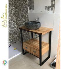 Tiny House Furniture, Steel Furniture, Home Decor Furniture, Industrial Furniture, Furniture Design, Bathroom Design Inspiration, Bookshelf Design, Bathroom Design Luxury, Amazing Bathrooms