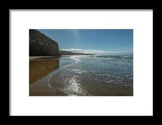 Beach at Cathedral Caves New Zealand Framed Print by Joan Carroll. All framed prints are professionally printed, framed, assembled, and shipped within 3 - 4 business days and delivered ready-to-hang on your wall. Choose from multiple print sizes and hundreds of frame and mat options.