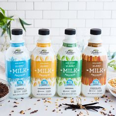 Is It Time For A Milk Makeover? Bolthouse Farms Plant Protein Milk is 100% vegan, non-GMO, lactose and gluten-free without dairy, nuts and soy. Available in 4 flavors – Unsweetened, Original, Vanilla and Chocolate.