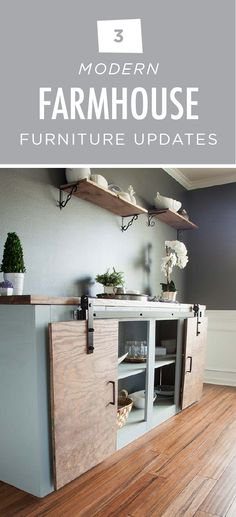 When you're trying to redecorate your home, it can be hard to find a piece of furniture that looks exactly the way you want it to. This article from Liberty Hardware will teach you how to make small adjustments to your furniture to get the perfect farmhouse chic look that you're going for. Use simple neutral colors like Sage Gray and Calligraphy to create a classic, traditional look
