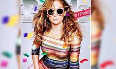 Jennifer Lopez, 47, on People Espanol cover