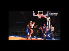 Taylor Swift and the New York Knicks   @ taylorswift13: This week, @Amareisreal helped me make my first and probably last layup. Stoked about the @ nyknicks game tonight!