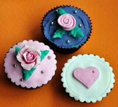 Valintine cupcakes