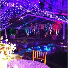 Debutante party set up