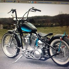 Speaking on the modification of Harley Davidson Chopper is certainly the best moment of your own can easily find examples of concepts chopper. Bobber Bikes, Bobber Motorcycle, Motorcycle Style, Cool Motorcycles, Motorcycle Garage, Bobber Style, Motos Harley Davidson, Harley Davidson Custom Bike, Custom Choppers