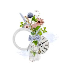 filledesiles_en_ton_hommage_cluster3.png ❤ liked on Polyvore featuring flowers, cluster and frame