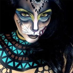 ADORE - sort of a Cleocatra. Love how the styling and theme lift it above run of the mill cat makeups