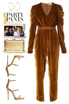 """#PolyPresents: Fancy Pants"" by prettynposh2 ❤ liked on Polyvore featuring Ulla Johnson, Yvonne Léon, Giuseppe Zanotti, MICHAEL Michael Kors, contestentry and polyPresents"