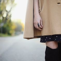 Short(ish) hems on today's new outfit post. See the full look at whatiworeblog.com