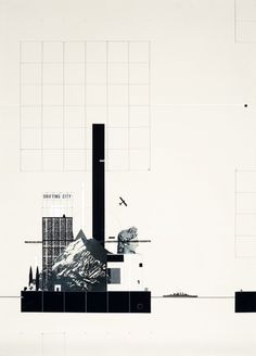 Fantastic Architecture: Illustrations By Bruna Canepa,© Bruna Canepa
