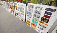 A plate of history: local collector displays century of license plates | Lubbock Online | Lubbock Avalanche-Journal