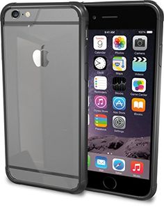 """iPhone 6 Case - PureView Clear Case for iPhone 6 (4.7"""") by Silk - Ultra Slim Protective Crystal Clear Carrying Case (Midnight Black) Silk http://www.amazon.com/dp/B00M8PRSVY/ref=cm_sw_r_pi_dp_R8mCub0RPDE4T"""