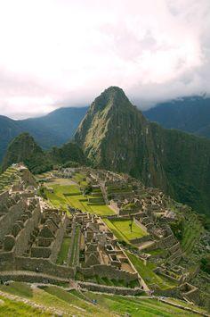The ancient Inca city of Machu Picchu - the highlight of my Peru itinerary