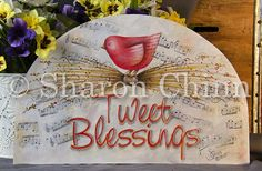 Tweet Blessings Door Crown Video Tutorial and ePattern - Sharon Chinn