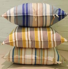 Scatters in Stripe Nation. BEAUTIFUL. Bed Pillows, Pillow Cases, Beautiful, Products, Pillows, Gadget