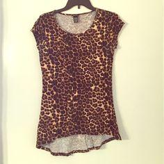 Cheetah Top Like new Rue 21 Tops Blouses
