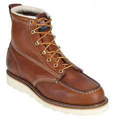 Thorogood 814-4200 American Heritage-Wedge 6 Inch Moc Toe  Boots  I dig these boots. They are a favorite.