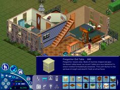 Welcome to The Sims 1! A game completely made out of ComicSans!