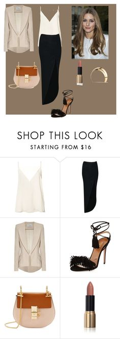 """Senza titolo #783"" by ghilby90 ❤ liked on Polyvore featuring Anine Bing, Boohoo, Hebe Studio, Aquazzura, Chloé, Ciaté, Veronique Leroy and Lelet NY"