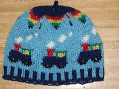 For Gabriel: CHOO CHOO Child Hat pattern by Deborah Tomasello