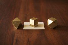 olyhedron paperweight from oji masanori