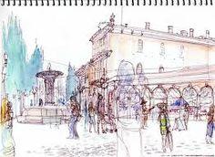 Afbeeldingsresultaat voor urban sketching