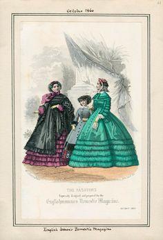 October, 1860 - Englishwoman's Domestic Magazine