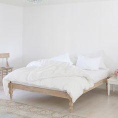 Celeste Platform Bed - Vintage Drift Wood