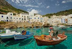 Aegadian Islands_group of sm mountainous islands in the Mediterranean Sea off the NW coast of Sicily, Italy near the cities of Trapani and Marsala. CruiseOne - Siemens & Associates 877-7GO CRUISE