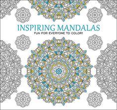 Inspiring Mandalas Coloring Book