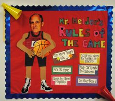 sports themed classroom   I've seen so many sports themed ideas, that may have to be my thing this year!