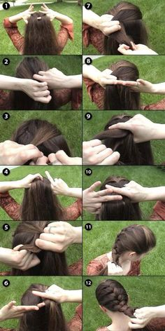 Learn how to French braid. One day I hope I can learn!