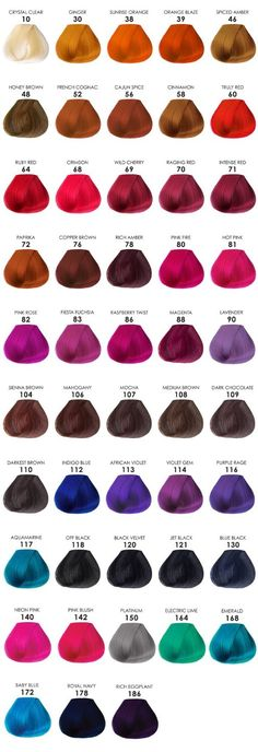 Amazon.com : Adore Semi Permanent Hair Color ~ You Pick! (Pack of 3) : Beauty